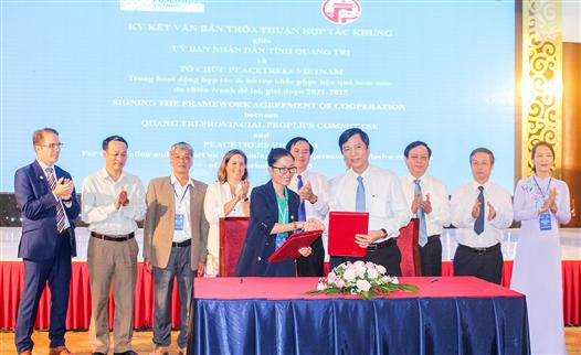 Strengthening cooperation and implementation of foreign non-governmental aid programs in Quang Tri in the period 2020 - 2025